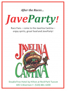 DOUBLETREE AD JaveParty Javelina 2016 Rillito Program